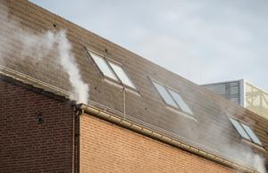 rooktest van gebouwen